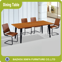 Popular Malaysian Wood Dining Table And Leather Chairs ...