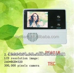 Peephole Door Camera,Digital Door Camera,Peephole Door Wifi Camera TEC601B-2A