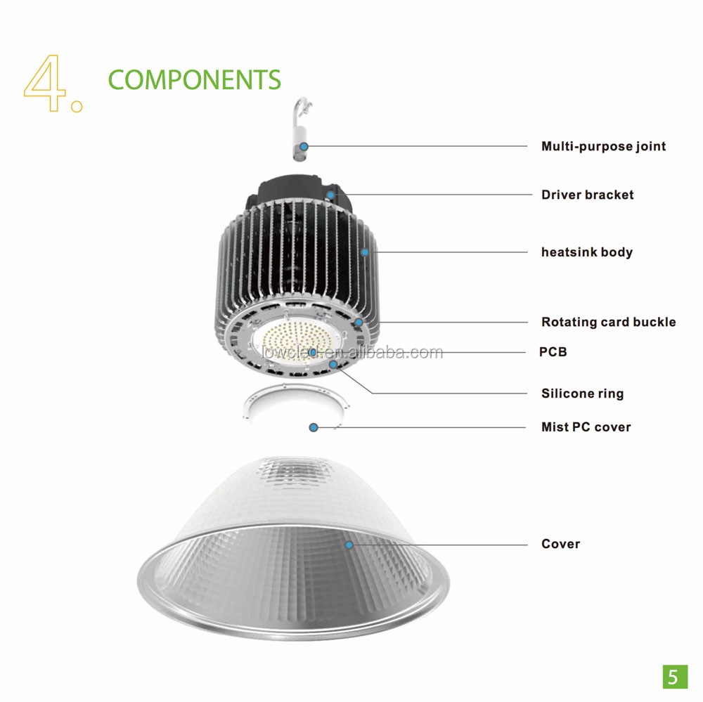 Led Low Bay Lights Price Low Price Ip44 200w Explosion-proof High Bay Lighting