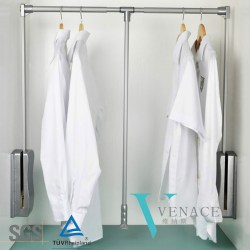 Scenic Wardrobe Rail Lift System Pull Down Clothing Adjust Many Kinds Pull Down Clos Hanger Pull Down Closet Rod Wall Mount Pull Down Closet Rod Hardware