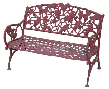 Outdoor Decorative Metal Cast Iron Benches Buy Cast Iron