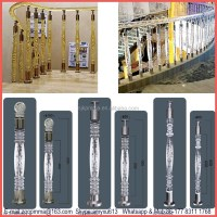 House Acrylic Pillars Designs Handrails For Outdoor Steps ...