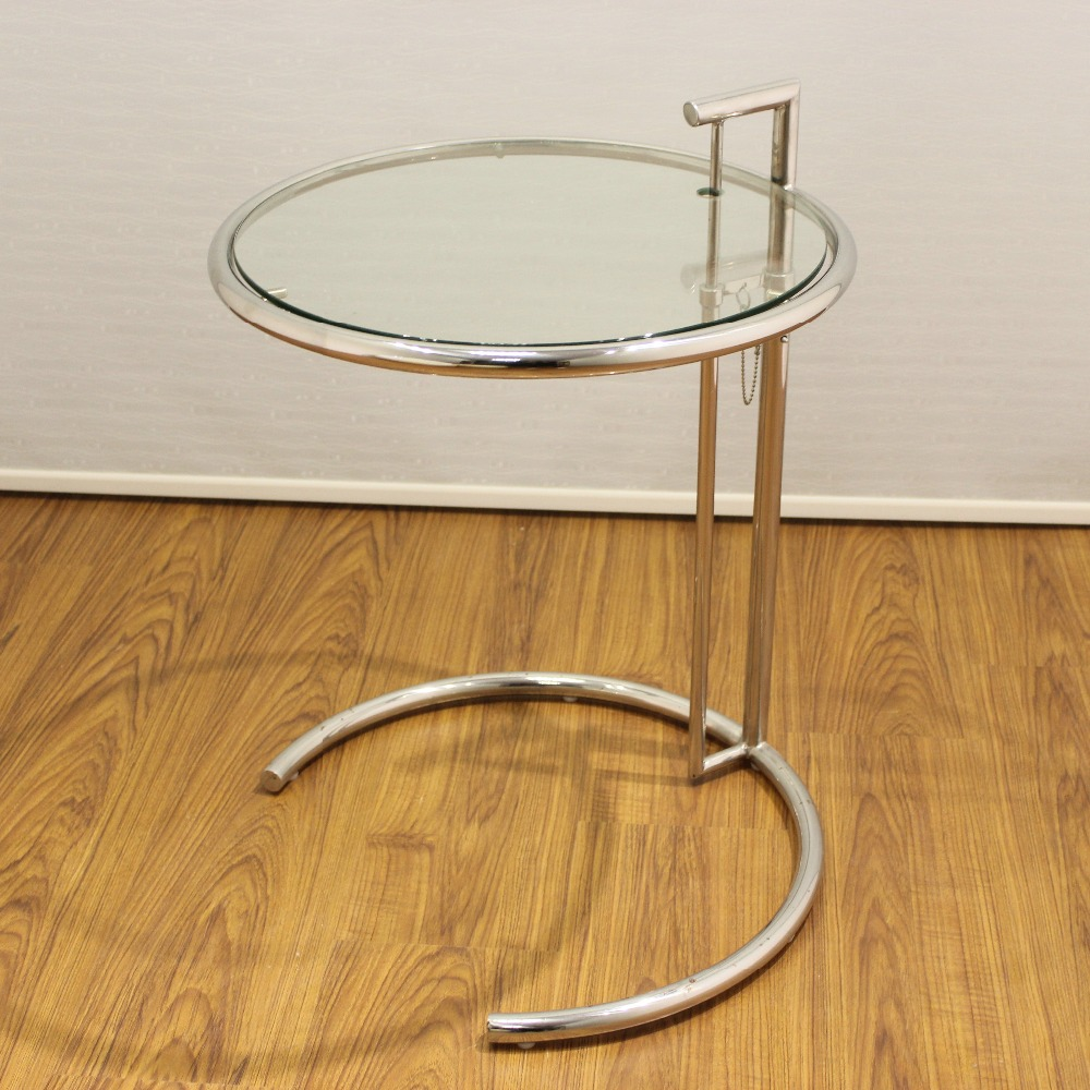 Eileen Gray Table Eileen Gray Adjustable Glass Side Table Living Room Coffee Table Buy Side Table Coffee Table Home Furniture Tea Table Living Room Coffee Table
