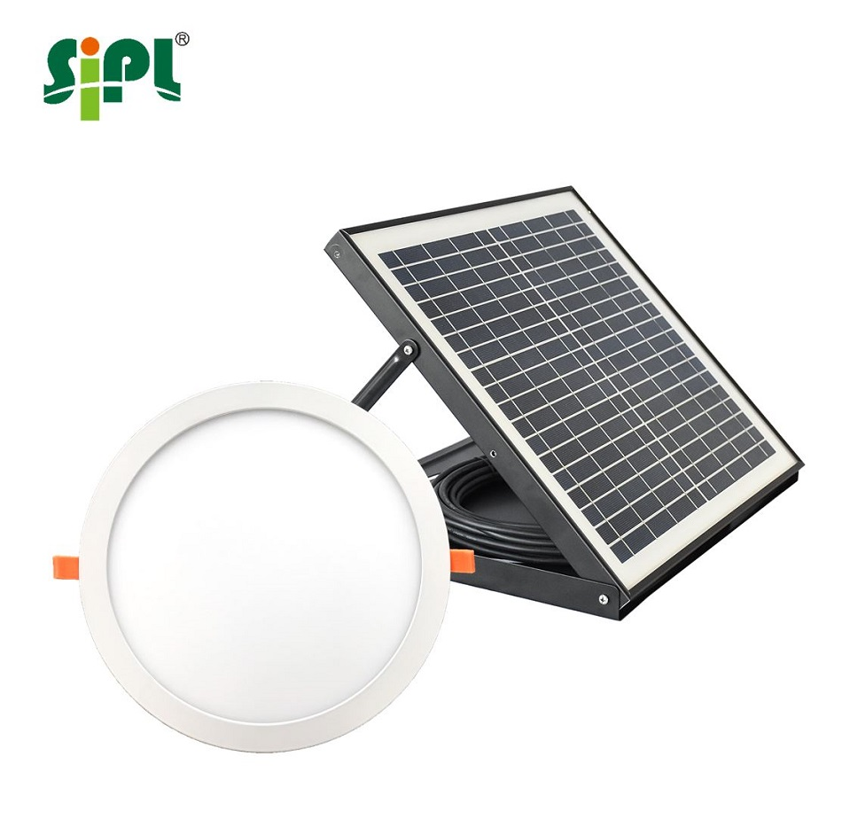 Led Verlichting Met Los Paneel New Version Sun Skylight 15 Watt Solar Panel Powered 300mm Round High Quality Smd2835 Led Lamp Ceiling Solar Sky Light Buy Solar Led Light Lamp