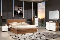 modern bed designs / queen storage bed / double bed with ...