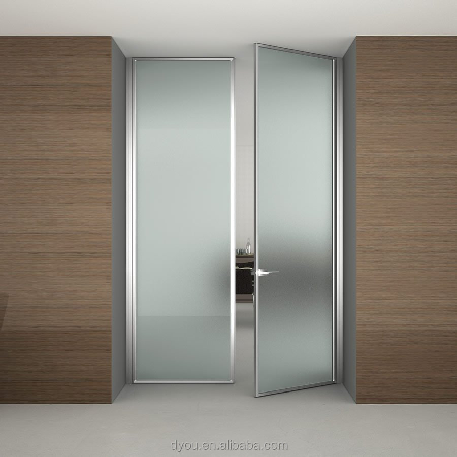 Factory prices interior office door with glass window from china supplier