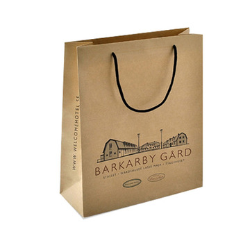 Fancy Design Low Cost Handmade Kraft Paper Bag Designs With Your Own