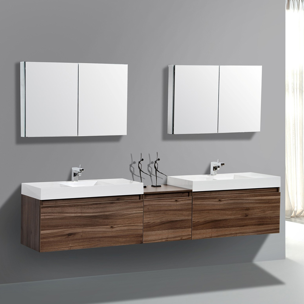 Bathroom Vanity 72 Double Sink Luxury Modern Italian 72