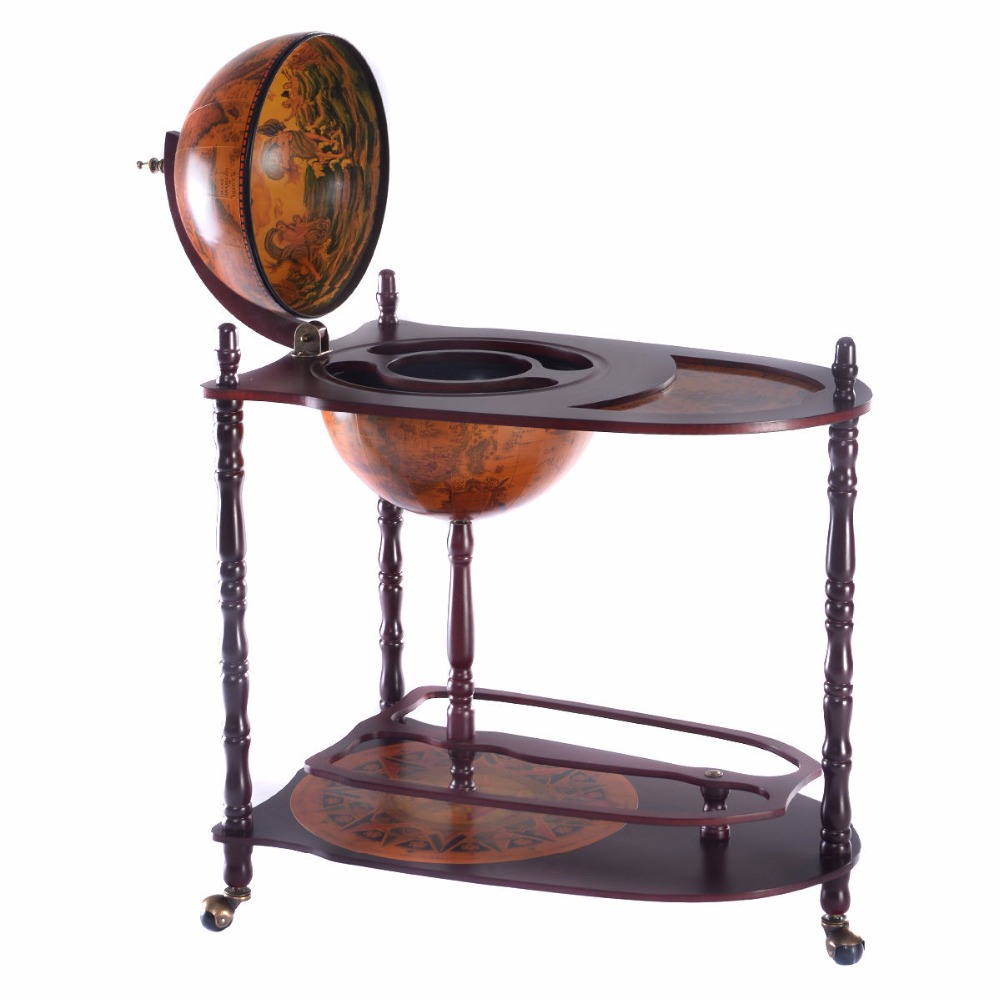 Wine Holder Stand Us 142 99 Goplus Wooden Wine Rack Holder Vintage 16th Century Italian Wine Bar Stand 34