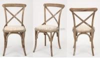 Wooden Antique Cross Back Bistro Chair/wedding Chair(ch ...