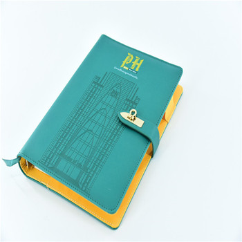Hard Cover Ring Binder Legal Size Notebook For Diary And Business - notebook binder