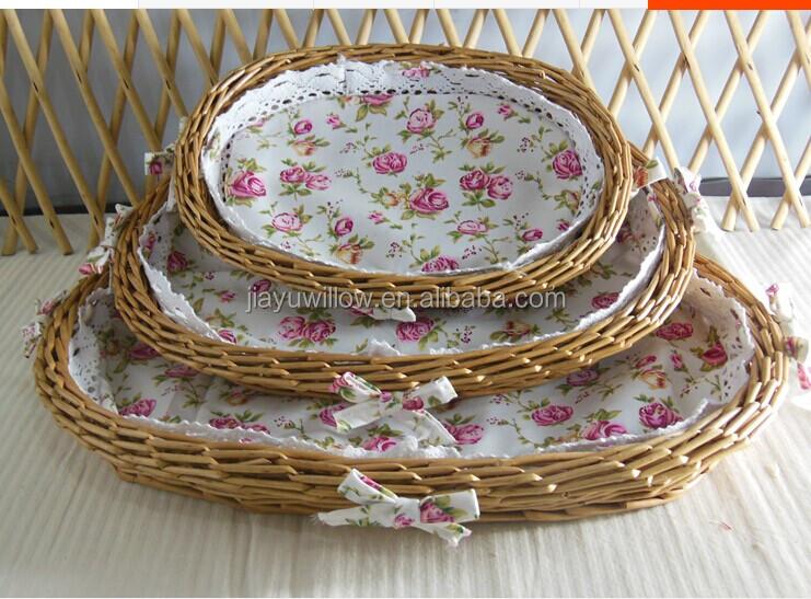 Handmade Wicker Bread Basket Straw Bread Basket Wholesale