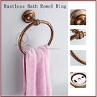 Bathroom Accessory Golden Bronze Towel Ring