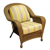Yellow Decorative Rattan Chair Cushions Replacement Indoor ...