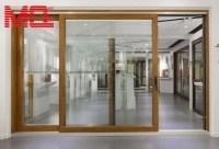 Aluminium Large Sliding Glass Doors With Inside Blinds ...