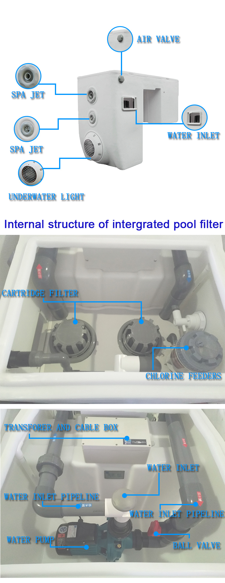 Pool Filteranlage Test Fussen Children Acrylic Integrated Pool Filter Pipeless Swimming Pool Water Filter Buy Pipeless Pool Filter Swimming Pool Water Filter Integrated