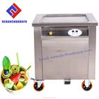 Hot sale 2017 Thailand single pan fried ice cream rolled machine