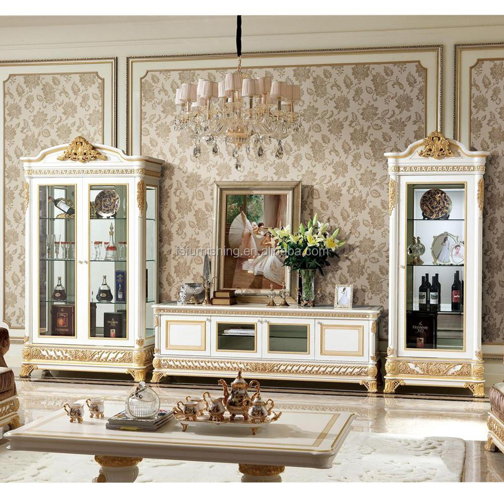 Living Room In French Yb62 French New Baroque Classic Living Room Display Cabinet European Antique Castle Style Wooden Hand Carved Display Cabinet Buy Antique Wooden