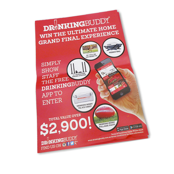 Printed Promotion Flyer/leaflet Printing - Buy Delicate Multicolor