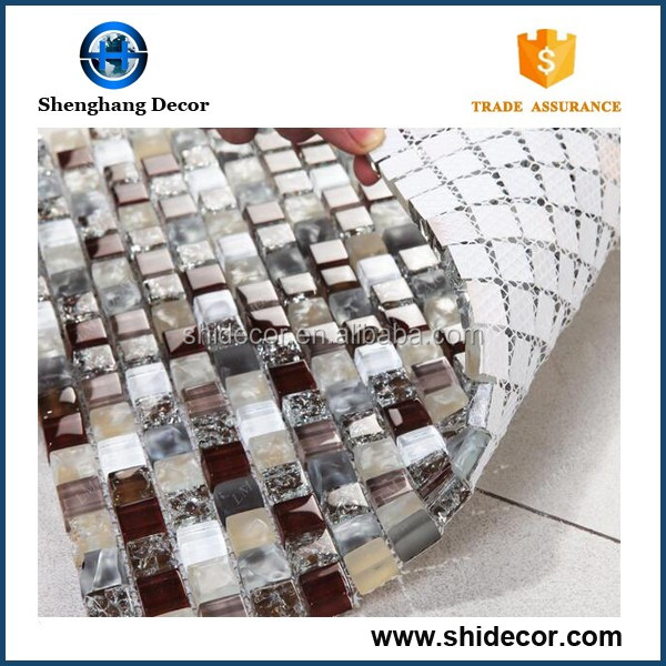 Thickness 8 Mm Glass Mosaic Tile, Thickness 8 Mm Glass Mosaic Tile