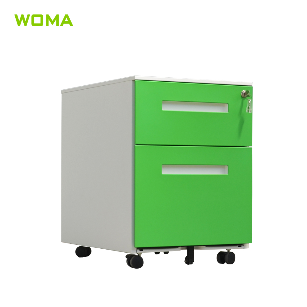 Small Filing Cabinet Modern Office Mobile 2 Drawer Steel Colorful File Cabinet Metal Mobile Small Filing Pedestal With Low Price Buy 2 Drawer Pedestal Cabinet 2 Drawer