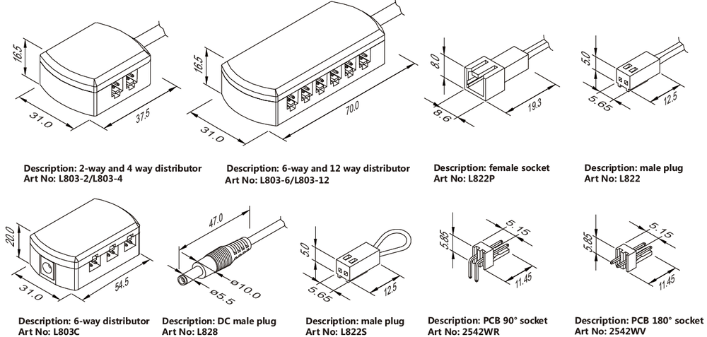 low voltage household wiring