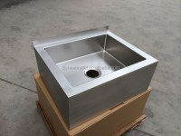 Handmade R19 Corner Stainless Steel Mop Sink - Buy R19 ...