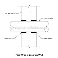 Large Diameter Pipe Sleeve Seals With Puddle Flange - Buy ...