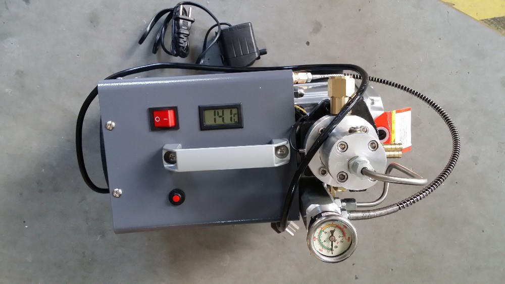 Pcp Airgun 300bar Electric Air Compressor Motor Inflator Pcp High