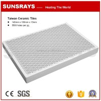 Infrared Burner Honeycomb Ceramic Tiles For Bbq Grills ...