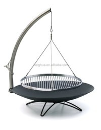 Cooking Grate Hanging Tripod Bbq Grill Fire Pit - Buy ...