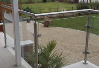 Outdoor Contemporary Banisters And Railings