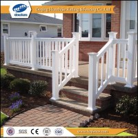 New Designs Pvc Outdoor Balcony Railings For Sale