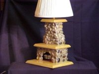 Custom Stone Fireplace Table Lamp - Buy Table Lamp Product ...