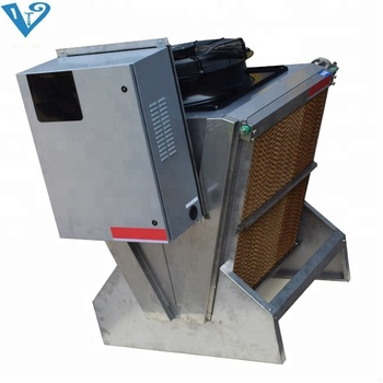 Customized Copper Fin Dry Cooler Hvac With Ziehl-abegg Ec Fan For