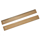 Most Popular 30CM Wooden Straight Rulers for Design and Drawing