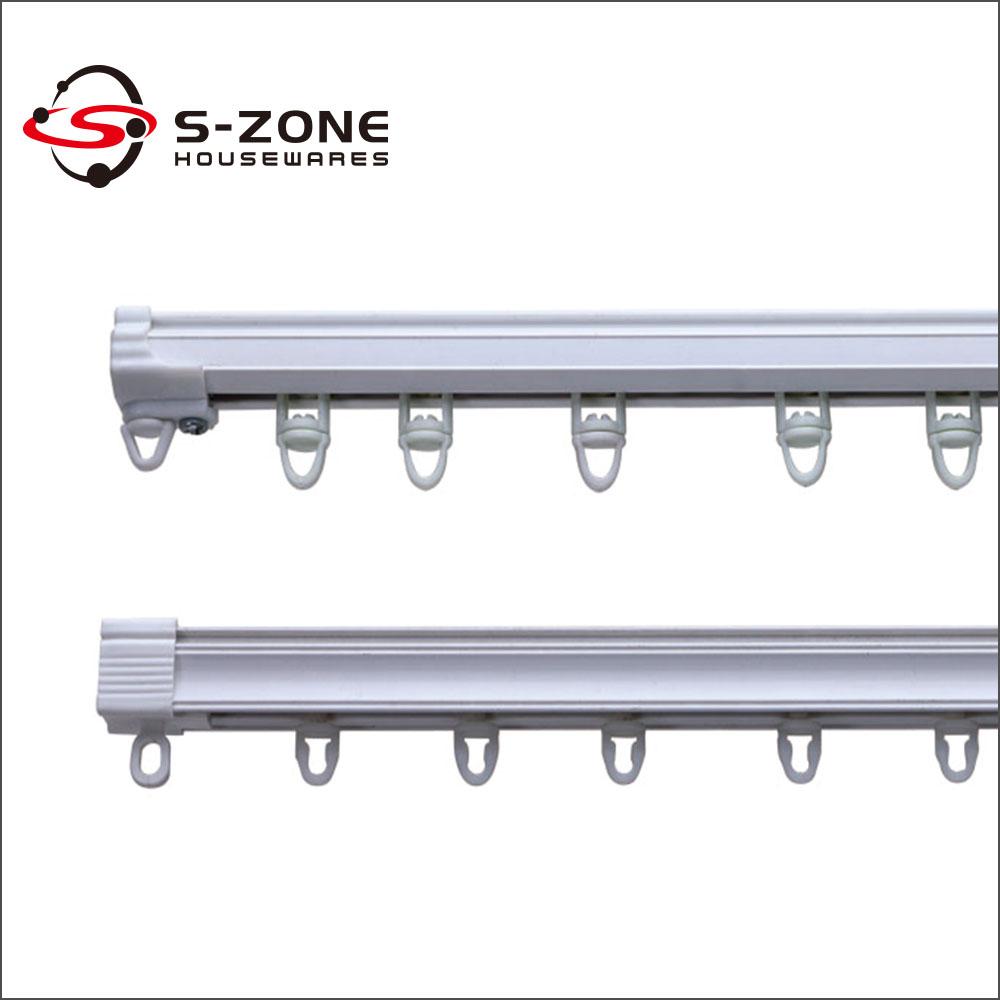 Wall Mount Curtain Track Wholesale Ceiling Or Wall Mounted Plastic Curtain Track With Plastic Stopper Buy Plastic Curtain Track Curtain Track Plastic Stopper Ceiling Curtain