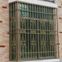 Steel Door Window Frames Insert Grill Design Security ...