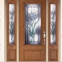 Decorative Glass Storm Doors Decorative Glass Inserts