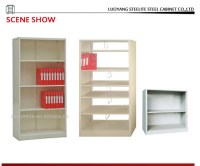 Filing Storage Open Shelf Cabinet / Wall Mounted Metal ...