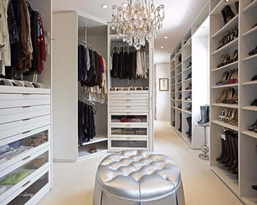Walkin Closet Cabinets Custom Big Walk In Closet Cabinets With Foot Stool View Big Walk In Closet Linkok Bedroom Wardrobe Product Details From Foshan Axcellent Industry
