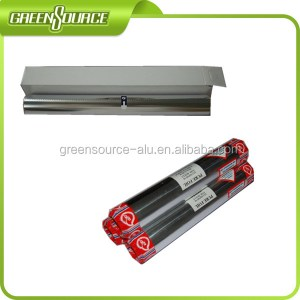 Food Packing Aluminum Foil Roll 30cm width with Metal Cutter