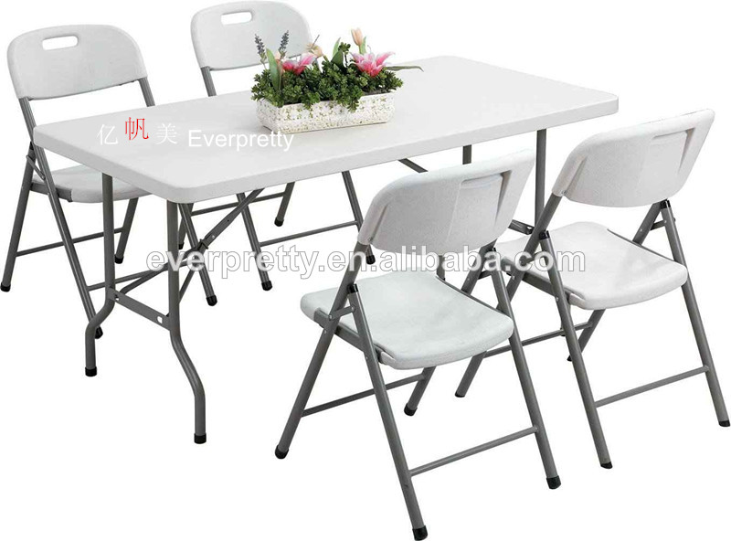 Portable Folding Table And Chair Setplastic Dining Table