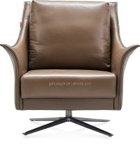 Leather Chaise Lounge Single Seat Sofa Chair Reclining ...