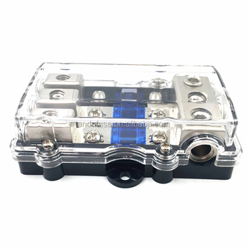 3 Ways 60a Mega Midi Fuse And Holder Box For Car Audio System - Buy