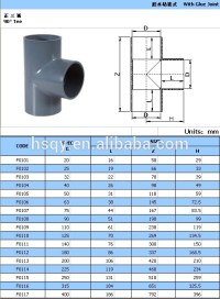 China Pvc Pipe And Fitting Tee Manufacturer - Buy Pipe And ...