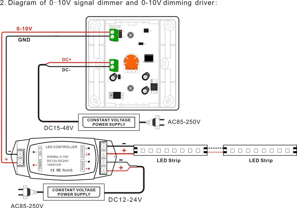 how to install dimmer switch
