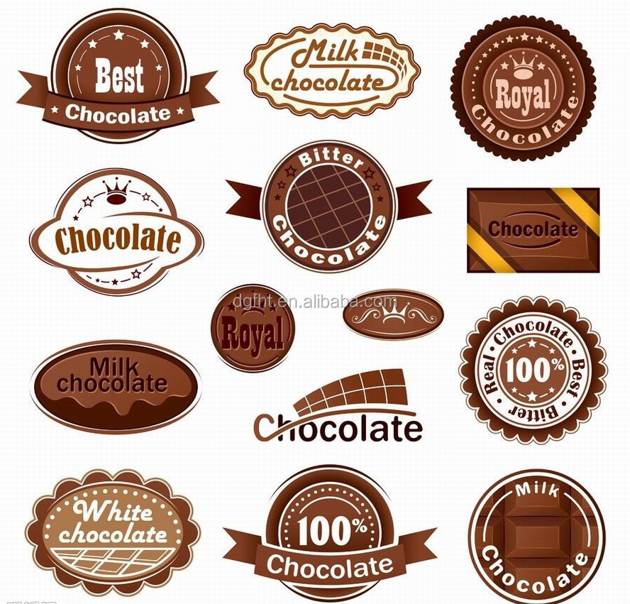 Food Sticker,Cosmetic Label,Chocolate Label - Buy Cosmetic Label - label
