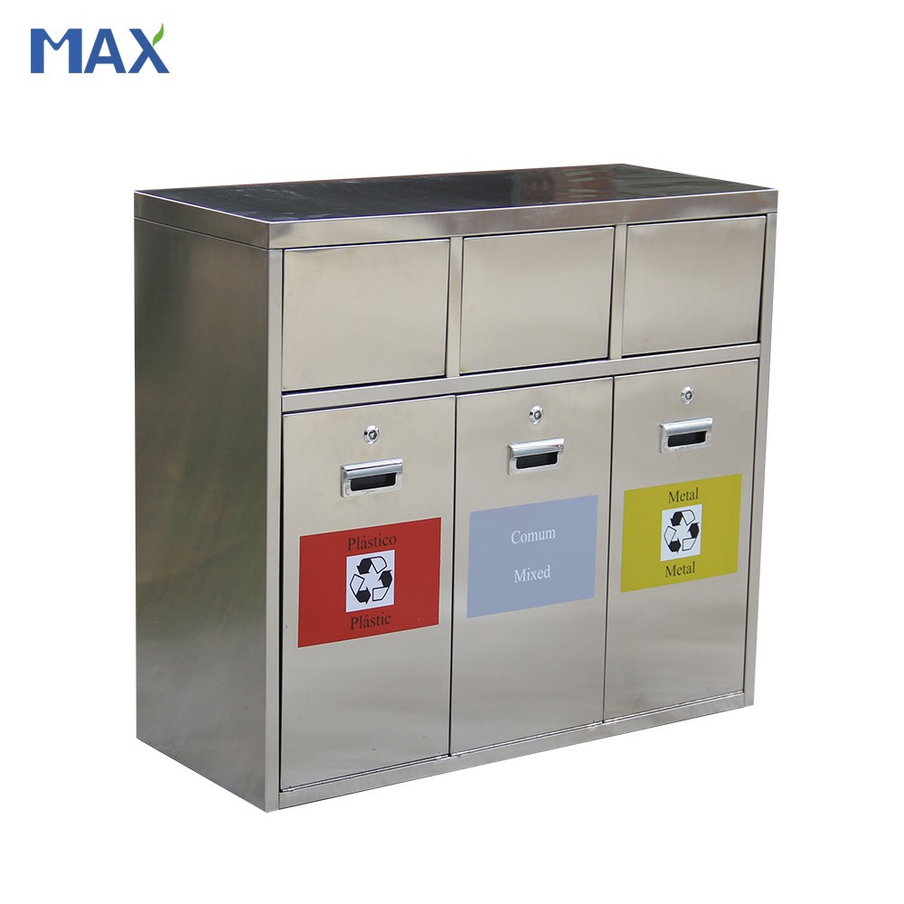 Stainless Steel Recycling Bins Street Classified 3 Bin Recycle Trash Can Stainless Steel Outdoor Metal Recycling Bins Buy Outdoor Metal Recycling Bins 3 Bin Recycle Trash