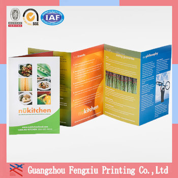 Matte Laminate Accordion Fold Cheap Brochure Printing Service - Buy - accordion fold brochure